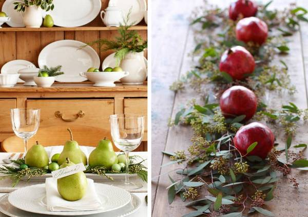Как украсить новогодний стол